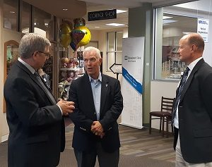Congressman Updated on Telehealth at Local Hospital