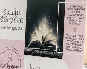Spanish Storytime at Local Library