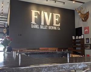 Five Barrel Bullet Brewing Company Opens Doors