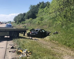 Police Chase Ends in Injury Crash on State Route 39
