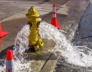 Hydrant Flushing Performed in New Phila