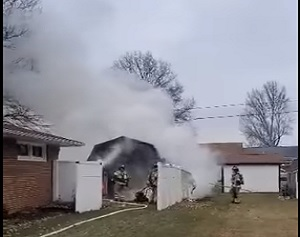 Two Separate Fires Reported on Sunday